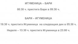 ДЕСТИНАЦИЯ БАРИ